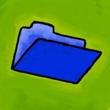 Folder painting Stock Photo