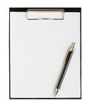 Folder for papers Royalty Free Stock Image