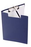 Folder and pen isolated Royalty Free Stock Photo