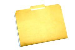 folder plików Zdjęcie Stock