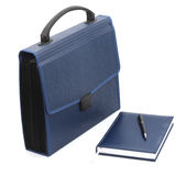 Folder-portfolio for papers Royalty Free Stock Images