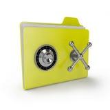 Folder safe Royalty Free Stock Photography