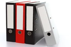 Folder storage Royalty Free Stock Photo