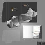 Folder template design Stock Photos