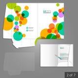 Folder template design Stock Photo