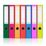Folder. To store files isolated on white background. illustration Royalty Free Stock Photography