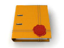 Folder Top Secret (clipping path included) Royalty Free Stock Photography