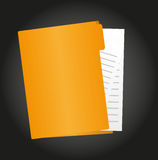 Folder vector Stock Images