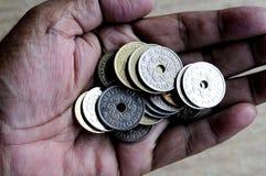 FOLDER VOOR FINANCIËLE HULP stock foto's