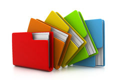 Folder With Documents Royalty Free Stock Images