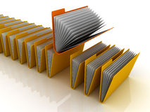 Folders Royalty Free Stock Photos