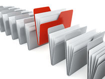 Folders Royalty Free Stock Images