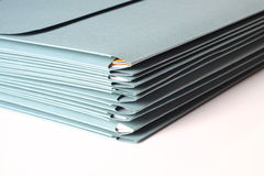 Folders Royalty Free Stock Photography