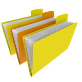 Folders Royalty Free Stock Photos