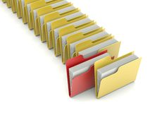 Folders Stock Photos