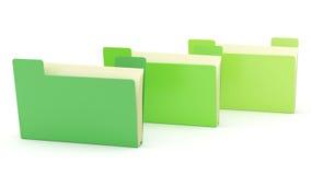 Folders Royalty Free Stock Image