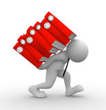 Folders Stock Image