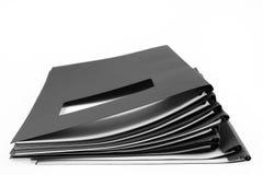 folders fotografia stock
