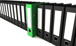 Folders archive Royalty Free Stock Photo