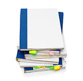 Folders with documents. With a pure cover Royalty Free Stock Photos