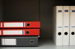 Folders for documents stock photos