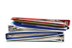 Folders and documents Stock Image