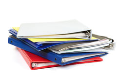 Folders and documents Stock Photography