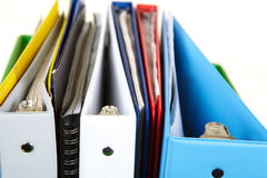 Folders and documents Royalty Free Stock Photo