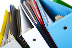 Folders and documents Stock Images
