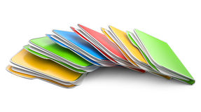 Folders and files. Stock Image