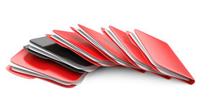 Folders and files. Royalty Free Stock Photos