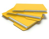 Folders/files concept. Royalty Free Stock Image