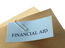 Financial Aid Stock Image