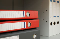 Folders For Documents Stock Image