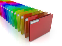 Folders Icon Stock Images