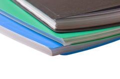 Folders for paper Stock Photo
