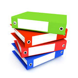 Folders for papers Stock Image