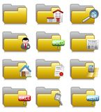 Folders Set - Real Estate Applications Folders 19 Stock Photos
