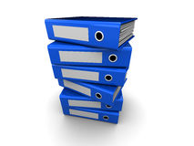 Folders stack Stock Images