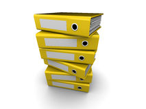 Folders stack Royalty Free Stock Photography