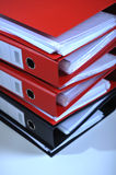 Folders stack Stock Photography