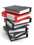 Folders stack Royalty Free Stock Photo