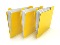 Folders Royalty Free Stock Photo