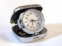 Folding alarm clock Royalty Free Stock Images