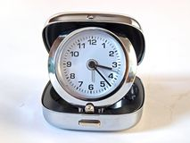 Folding alarm clock Stock Images