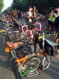 Folding bike Royalty Free Stock Photo