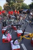 Folding bike Stock Image