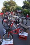 Folding bike Stock Images