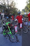Folding bike Royalty Free Stock Photos