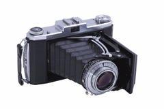 Folding Camera, Isolated Royalty Free Stock Photography